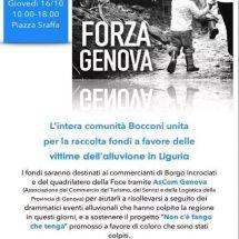 Gli studenti si mobilitano per Genova