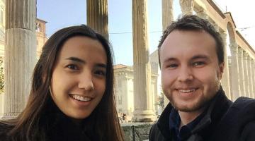 La francese e l'inglese che ci aiutano a trovare che cosa fare a Milano
