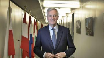 Michel Barnier al lancio del Double Degree LSE Bocconi in European and International Public Policy and Politics