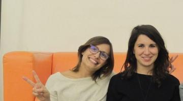Mara e Giulia i volti di italianonprofit