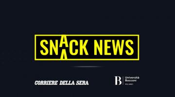 Al via Snack News, il videogiornale per la generazione Z
