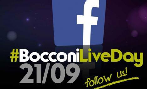 #BocconiLiveDay. Il bello della diretta...in universita'