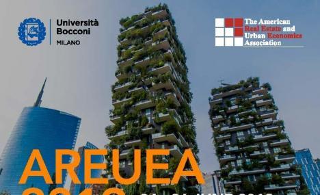 Milano e la Bocconi, la giusta combinazione per AREUEA 2019