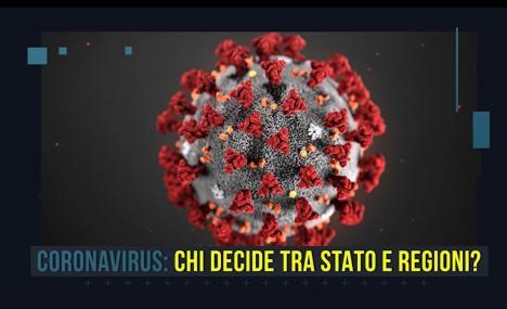 Stato o regioni. Chi decide in casi come il coronavirus?