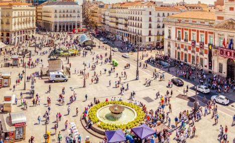 Madrid, la citta' delle terrazze