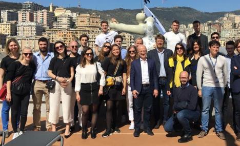 Studenti a bordo, quattro progetti per migliorare il servizio al cliente con la tecnologia sulle navi da crociera