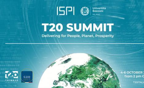 Tre giorni in Bocconi per discutere delle sfide per il G20