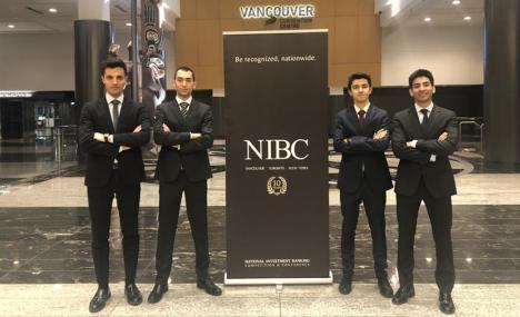 Un team di Bocconiani a Vancouver per la finale Nibc