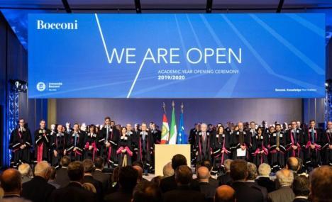 #WeAreOpen: Bocconi, inaugurati il campus urbano e l'anno accademico