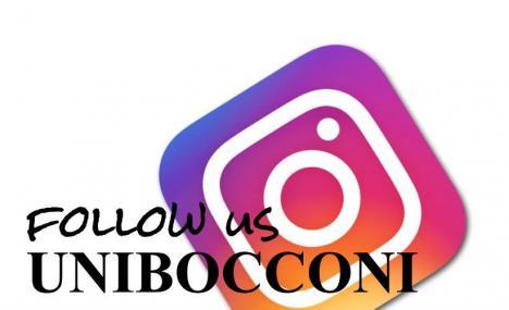 Immagini di un'universita': Unibocconi su Instagram