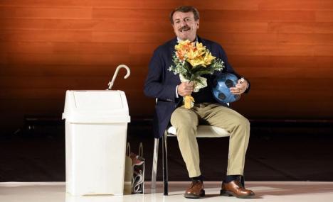 Il monologo di Giacomo Poretti in scena in Bocconi