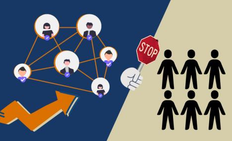 I leader di aziende di successo faticano a cooperare al di fuori della loro rete piu' stretta