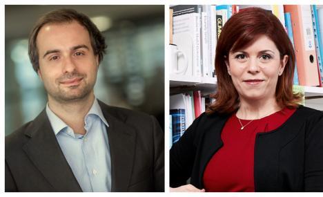 Stefano e Ileana, alumni prof under 40 al top nel mondo