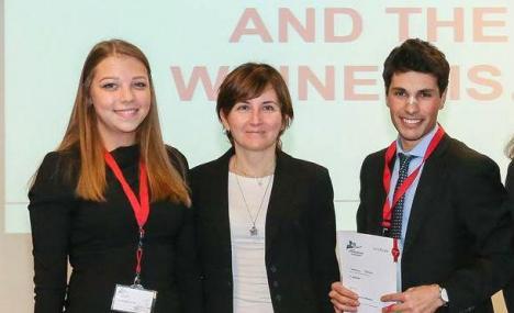 Iva Mladenovic e Tommaso Bressa vincono l'Henkel Innovation Challenge per l'Italia
