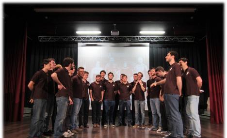 In Bocconi il coro Cai Uget e Capitano Grandi