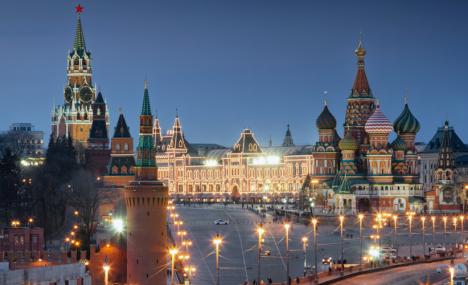 Mosca si fa bella per i Mondiali di calcio