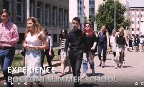 Du Codage a' l'Economie et au Business de la Mode: en Juillet, Bocconi University accueille etudiants de tous les continents