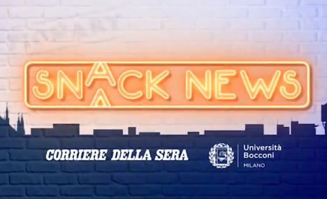Snacknews: la quinta edizione e' partita