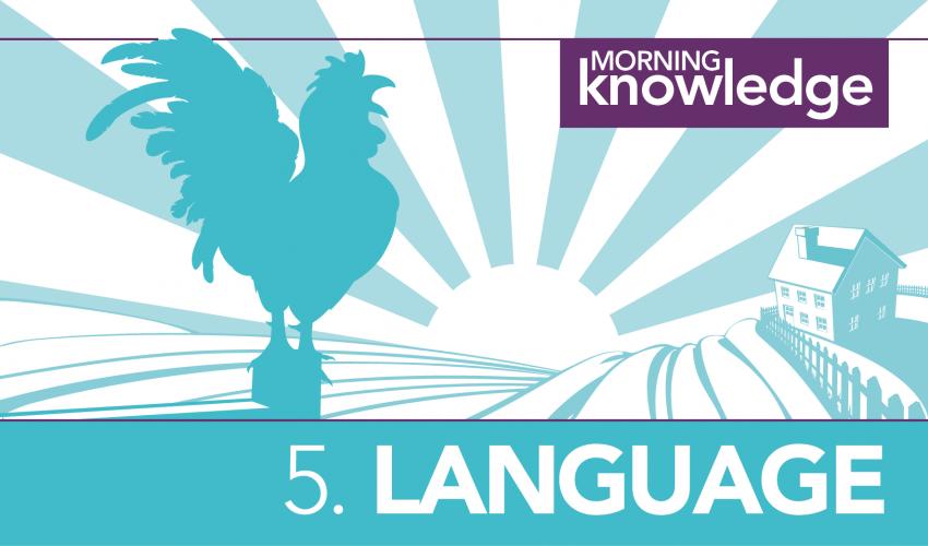 Morning Knowledge /5. Language