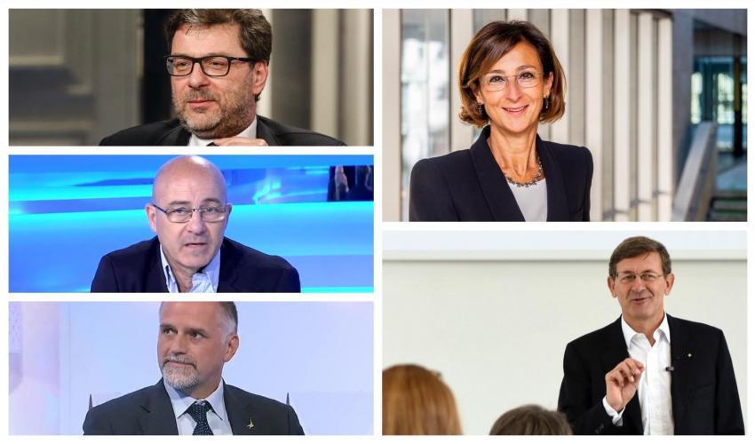 Colao e Cartabia ministri del governo Draghi