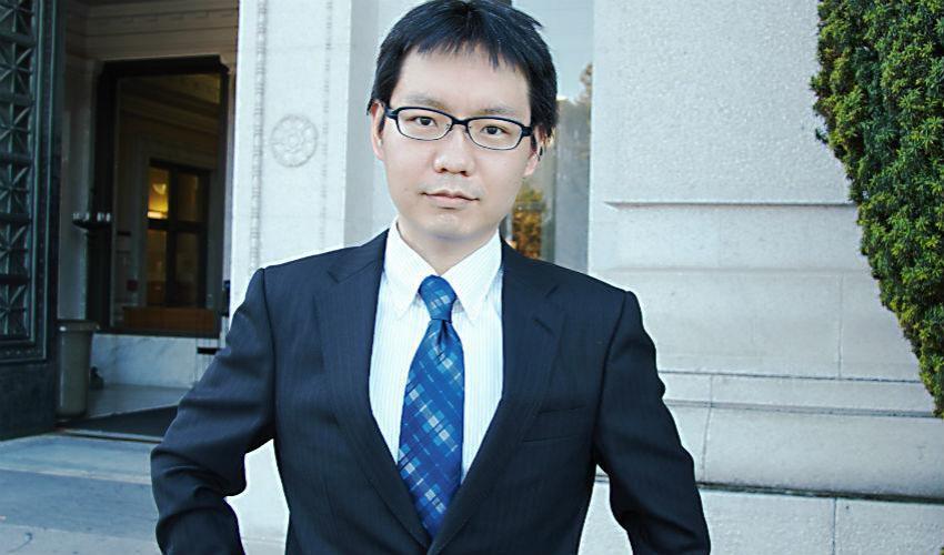 Satoshi Fukuda, uno studioso di teoria dei giochi a Milano