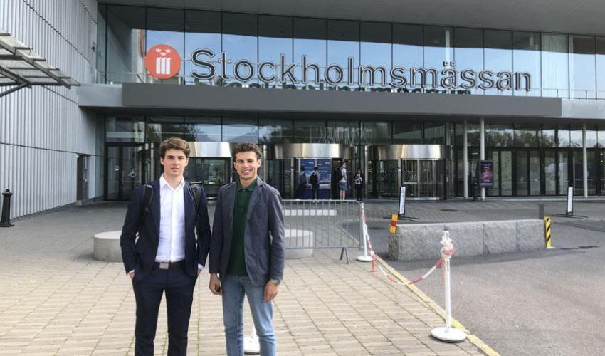 Due studenti a Stoccolma per la mobilita' sostenibile