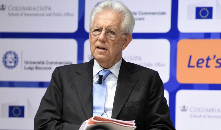 Mario Monti a capo della commissione per trovare il prossimo presidente dell'Erc