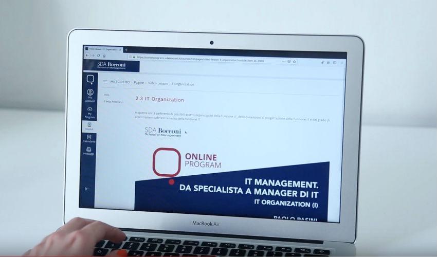 SDA Bocconi online: la formazione continua ora e' un lusso accessibile