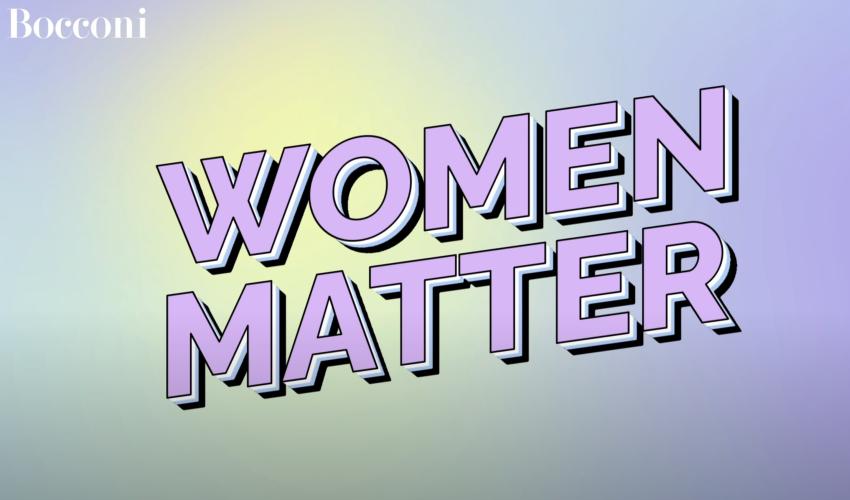 #WomenMatter: Bocconi Celebrates International Women's Day