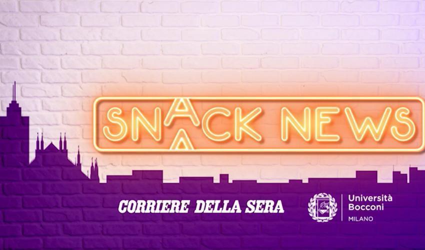 La crisi demografica protagonista oggi di SnackNews Live