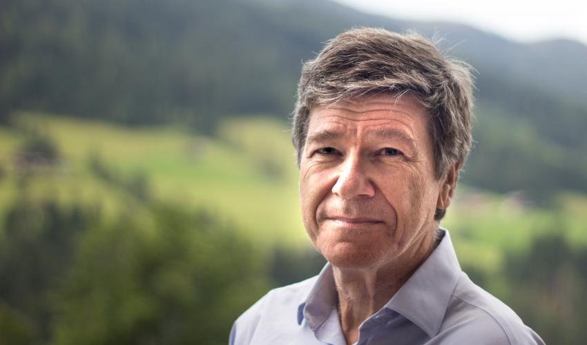 Jeffrey Sachs at Bocconi