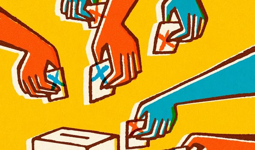 Come cambiano  gli assi dell'appartenenza politica
